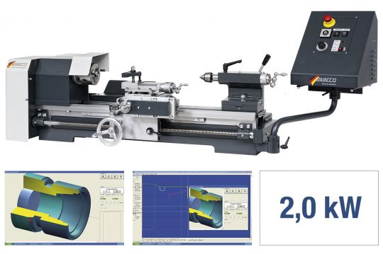 CNC Drehmaschine CC-D6000 hs PROFI