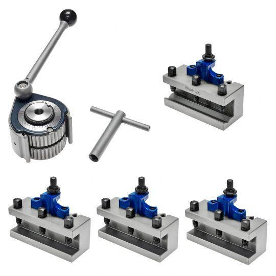 Schnellwechsel Stahlhalter Set Größe A