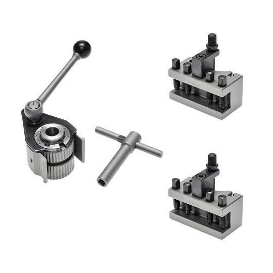 Schnellwechsel Stahlhalter Set Größe Aa (A0)