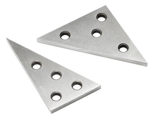 Universal angle plate set