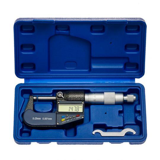 Digitale Mikrometerschraube 0-25 mm