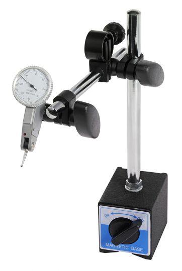 Magnet-Messstativ mit Fühlhebelmessgerät