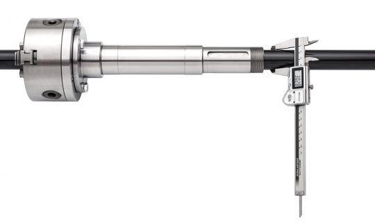 Hauptspindeldurchlass Ø 30 mm
