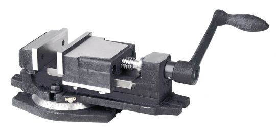 1-Achsen Maschinenschraubstock 100 mm Vertex