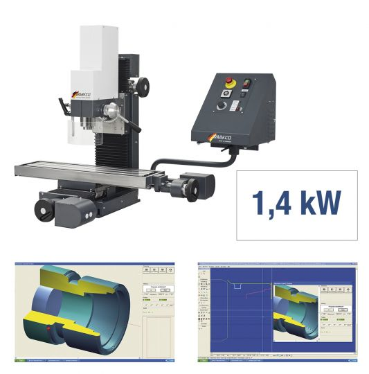 CNC Fräsmaschine CC-F1410 LF PROFI