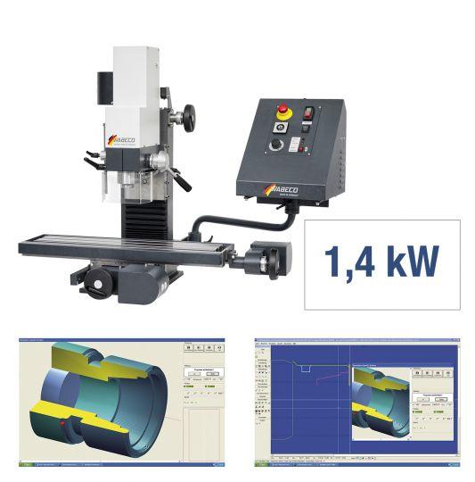 CNC Fräsmaschine CC-F1210 PROFI
