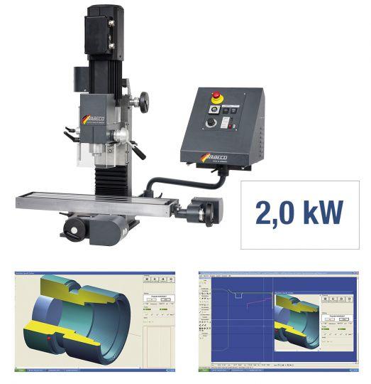 CNC Fräsmaschine CC-F1210 hs PROFI