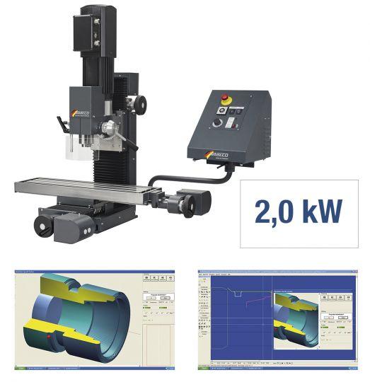 CNC Fräsmaschine CC-F1410 LF hs PROFI
